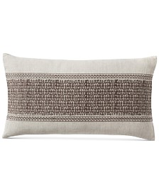 "Hotel Collection Pebble Diamond 14"" x 24"" Decorative Pillow"