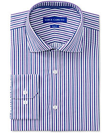 Vince Camuto Men's Slim-Fit Comfort Stretch Stripe Dress Shirt