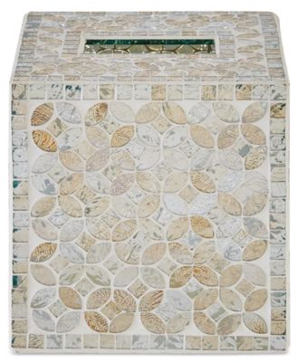 Cape Mosaic Tissue Cover, Created for Macy's