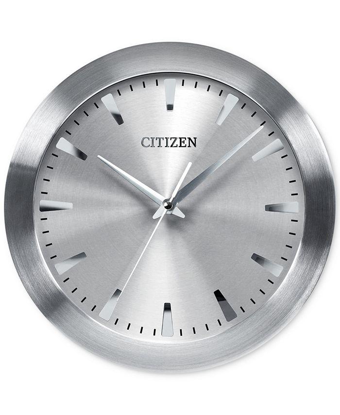 Citizen - Gallery Silver-Tone Metal Wall Clock