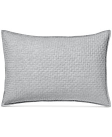 Hotel Collection Diamond Stripe Quilted Standard Sham