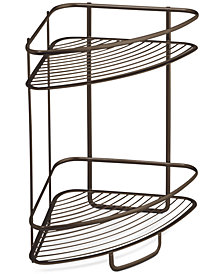 Interdesign Axis Two Tier Shower Shelf