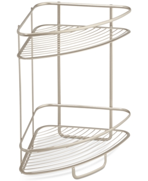 Interdesign Axis Two Tier Shower Shelf Bedding