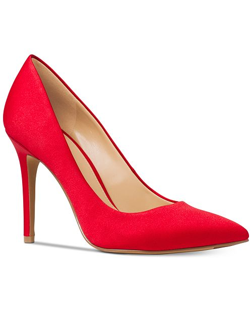 bZBxyN7KeV Womens Claire Satin Pumps vczfb4Za