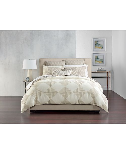 Hotel Collection Diamond Embroidered Bedding Collection Bedding