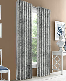 "J Queen New York Hampton Blackout 50"" x 63"" Grommet Curtain Panel"