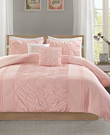 Carrie 5-Pc. Full/Queen Comforter Set