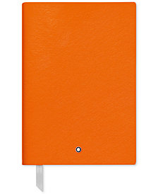 Montblanc Fine Stationery Orange Notebook