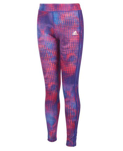 adidas Geo-Print ClimaLite® Activewear Leggings, Little Girls