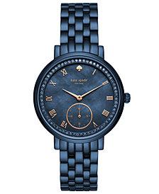 kate spade new york Women's Monterey Blue Stainless Steel Bracelet Watch 38mm