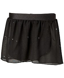 Flo Dancewear Embellished Georgette Wrap Skirt, Little Girls & Big Girls