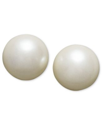 Image of Charter Club Simulated Pearl Stud (8 mm)