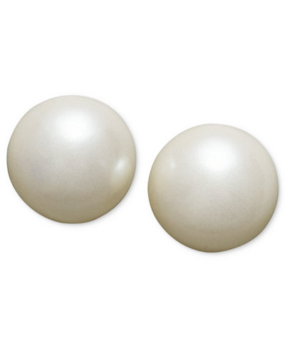 Charter Club Imitation Pearl Earring Collection, Created for Macy's