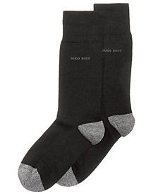 Hugo Boss Men's Marbled-Toe Socks