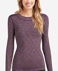 Cuddl Duds Women's  FlexFit® Crew Long-Sleeve T-Shirt