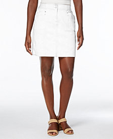Karen Scott Petite A-Line Skort, Created for Macy's