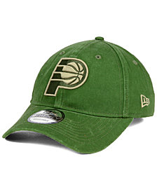 New Era Indiana Pacers All Olive 9TWENTY Dad Cap