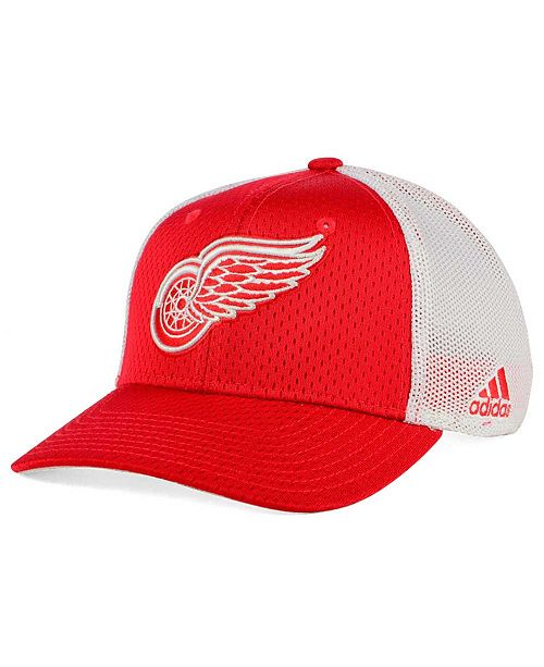 adidas Detroit Red Wings Mesh Flex Cap