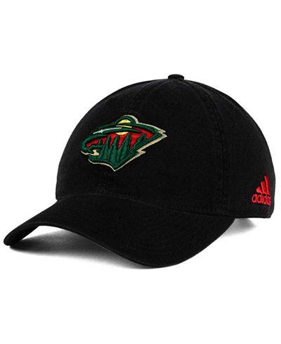 adidas Minnesota Wild Core Slouch Cap