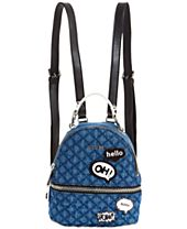 GUESS Denim Cool School Small Backpack