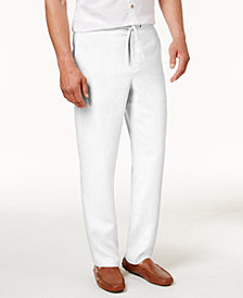 Tasso Elba Men's Drawstring Pants, Created for Macy's