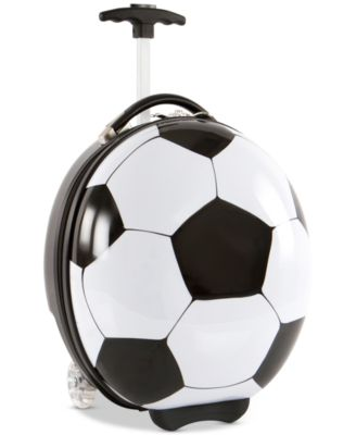"""16"""" Kids Wheeled Soccer Ball Suitcase"""