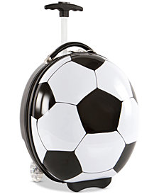 "Heys 16"" Kids Wheeled Soccer Ball Suitcase"