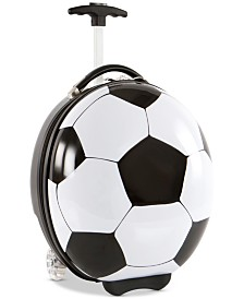 "Heys 16"" Kids Wheeled Soccer Ball Suitcase"