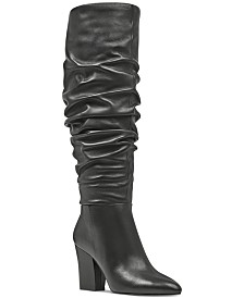 0a76caf445e Nine West Scastien Block-Heel Boots