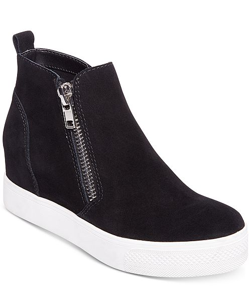 85979ac2ded Steve Madden Women s Wedgie Wedge Sneakers   Reviews - Athletic ...