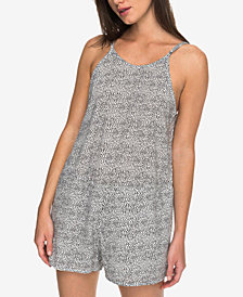 Roxy Juniors' Cotton Printed Romper