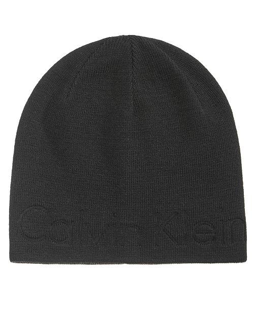 96b96afb3ffd4d Calvin Klein Men's Embossed Logo Beanie & Reviews - Hats, Gloves ...