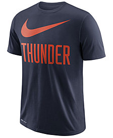 Nike Men's Oklahoma City Thunder Swoosh Legend Team T-Shirt