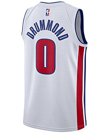 Nike Men's Andre Drummond Detroit Pistons Association Swingman Jersey