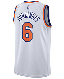 Nike Men's Kristaps Porzingis New York Knicks Association Swingman Jersey