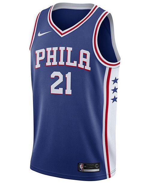 c06c8efbfae73 Men's Joel Embiid Philadelphia 76ers Icon Swingman Jersey