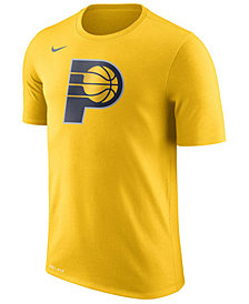 Nike Men's Indiana Pacers Dri-FIT Cotton Logo T-Shirt
