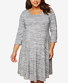 Motherhood Maternity Plus Size A-Line Dress