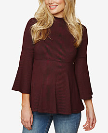 Motherhood Maternity Peplum Top