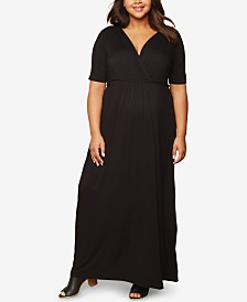13525f180e0 Motherhood Maternity Plus Size Maxi Dress