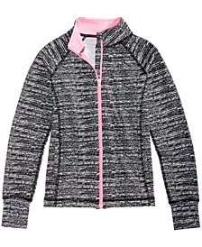 Ideology Static-Print Active Jacket, Big Girls, Created for Macy's