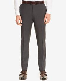 BOSS Men's Slim-Fit Check Virgin Wool Dress Pants