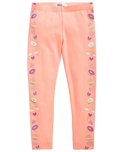 Epic Threads Dessert Tuxedo Leggings, Toddler Girls, Created for Macy's
