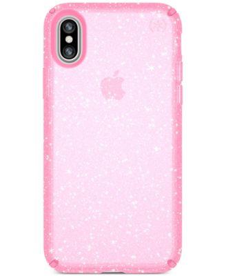 Presidio Clear Glitter iPhone X Case
