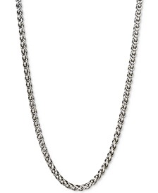 "22"" Wheat Chain Necklace in Sterling Silver, Created for Macy's"