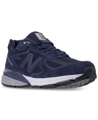 New Balance Men\u0027s 990 V4 Reflective Running Sneakers from Finish Line