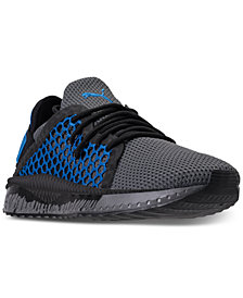 Puma Men's TSUGI Netfit Drip Paint Casual Sneakers from Finish Line