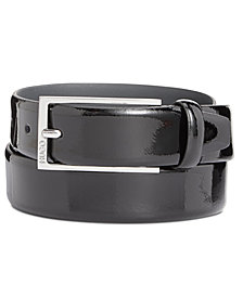 Hugo Boss Men's Patent Leather Dress Belt