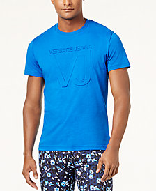 Versace Men's Embossed Logo T-Shirt