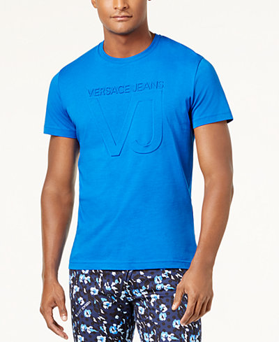 Versace Men's Embossed Logo T-Shirt